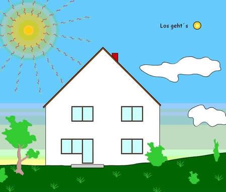 Solarthermie - Spiel